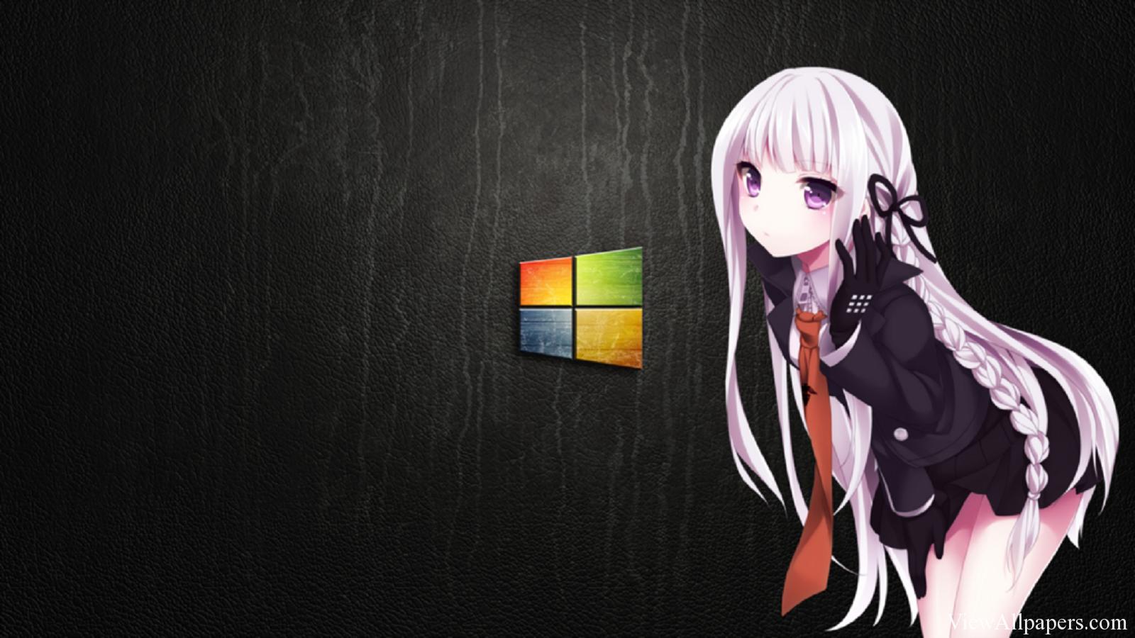 Windows Anime High Resolution Wallpaper download Windows Anime 1600x900