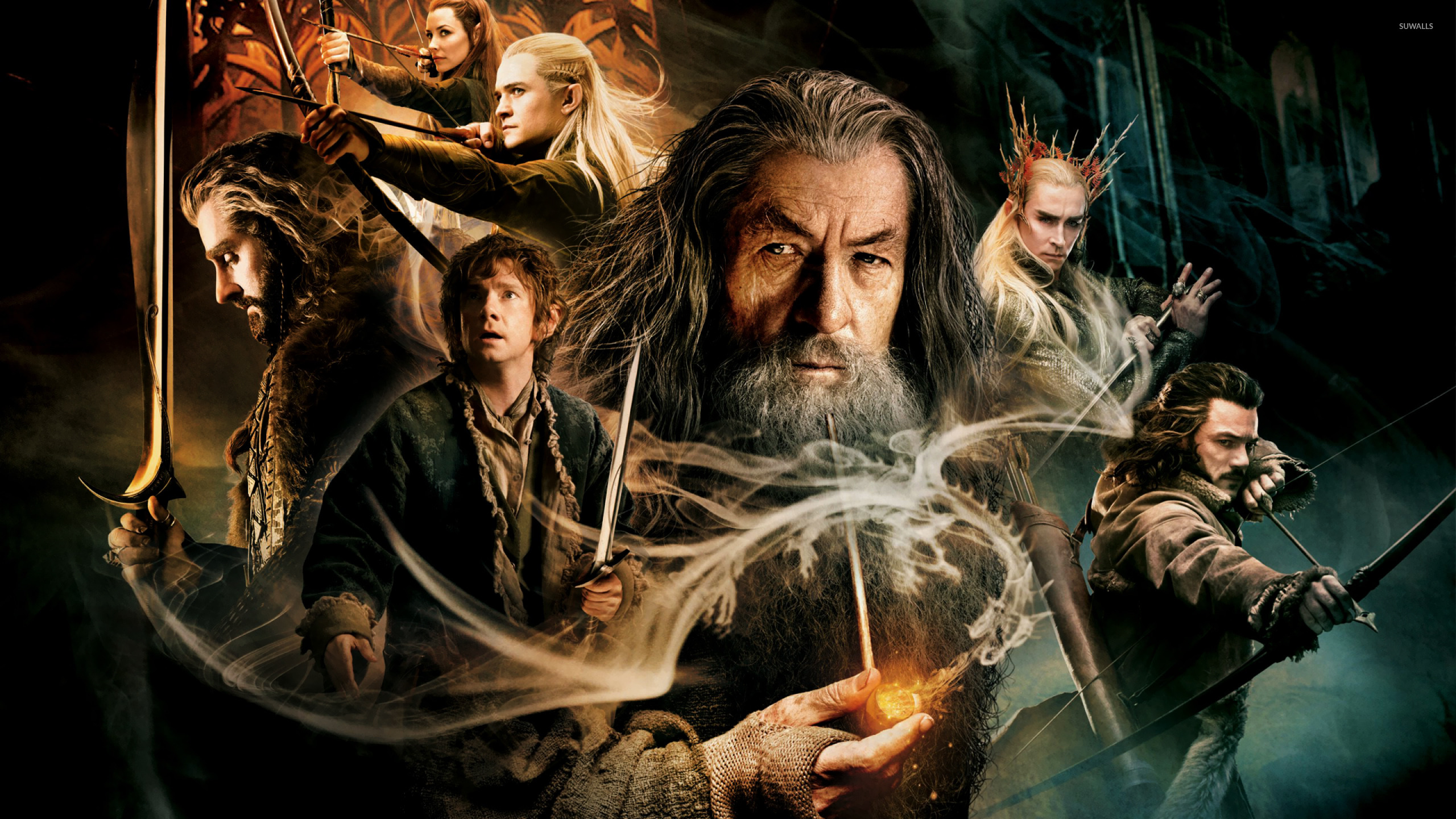 The Hobbit The Desolation of Smaug wallpaper   Movie wallpapers 1366x768
