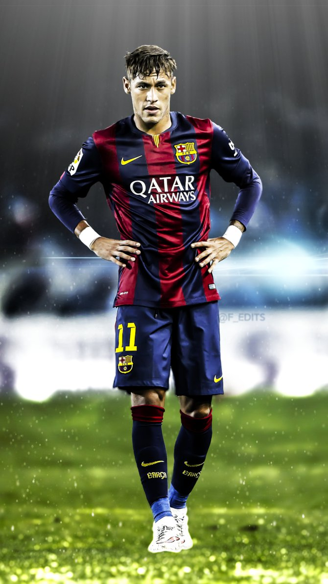 Wallpaper iphone neymar - Neymar Jr Iphone Wallpaper By F_edits By F Edits On Deviantart