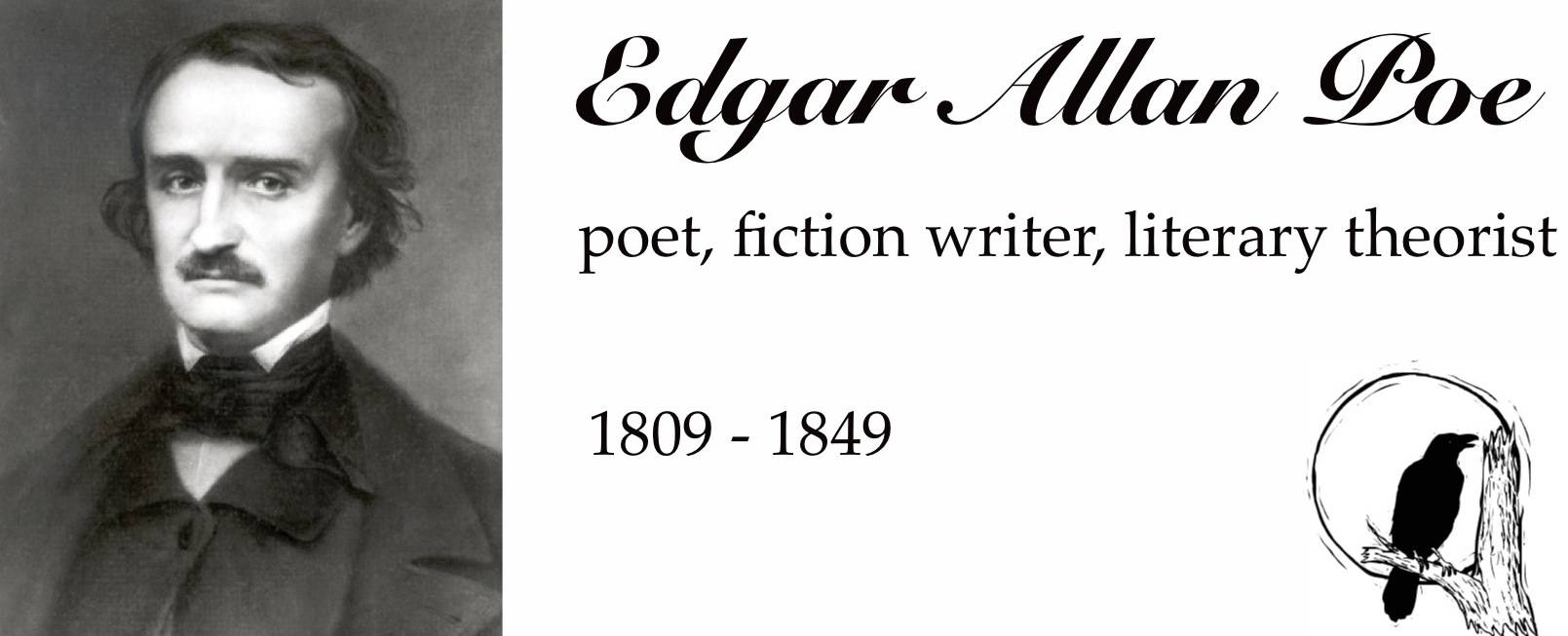 Edgar Allan Poe Wallpaper 7 Wallpaper for Edgar Allan Poe Edgar 1609x653