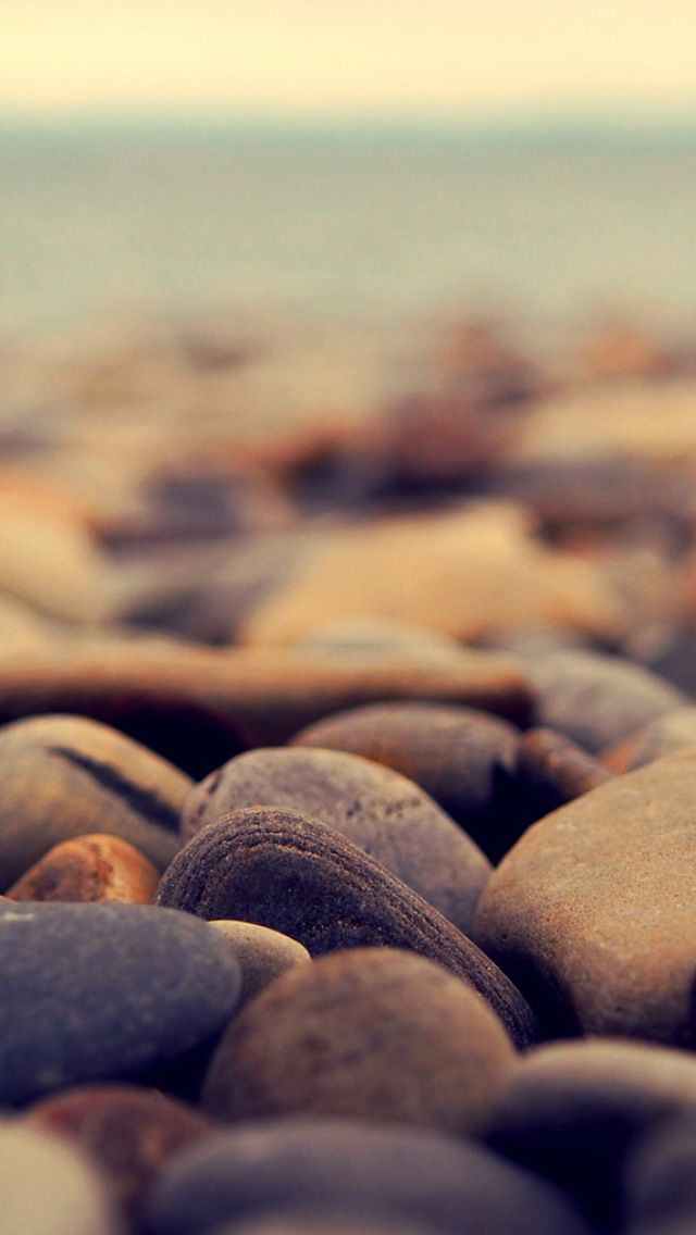 Stone beach iPhone 5s Wallpaper Wallpaper s8 Wallpapers 640x1136