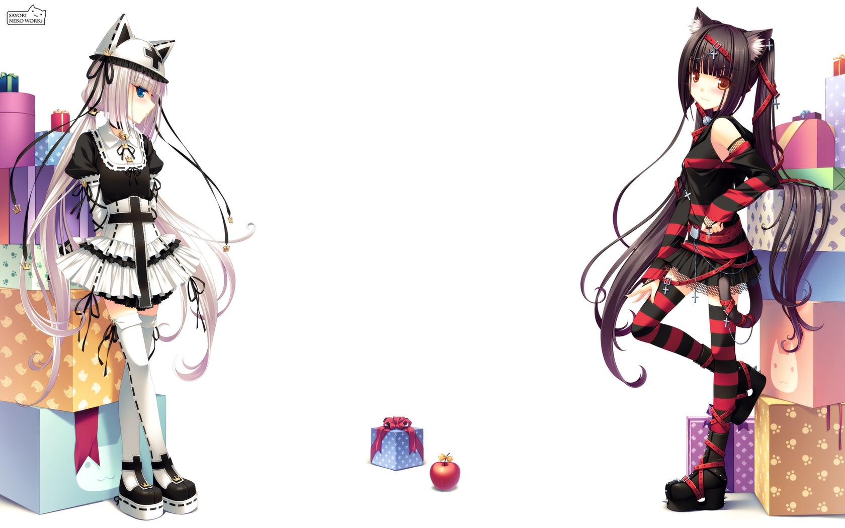 Neko Girl Wallpaper Pack 2 1680x1050