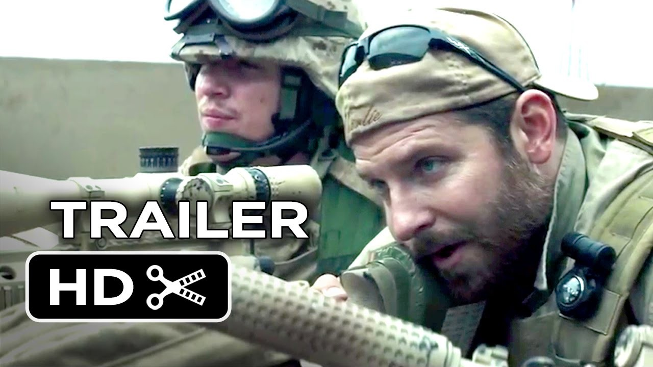 American Sniper Hd Trailer Wallpaper 1280 720 1280x720