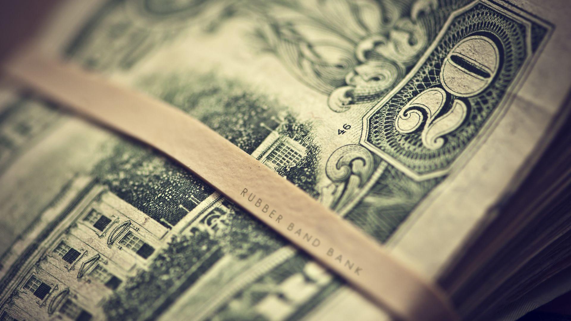 Money close up dollar gray green money photography 1920x1080