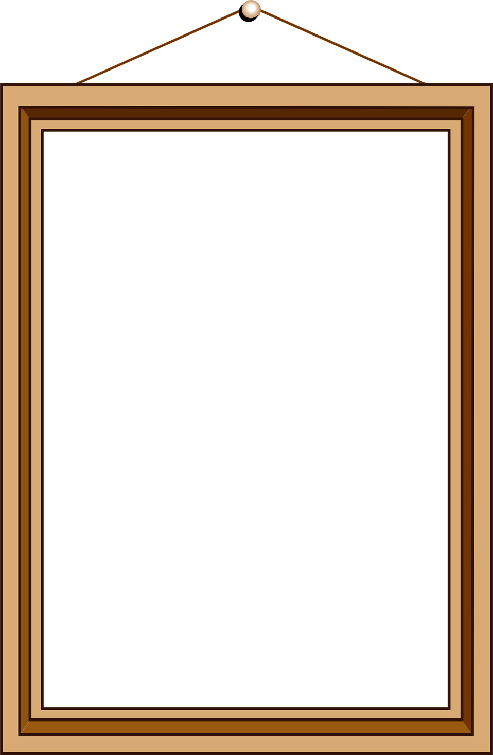 Blank Picture Frame Wallpaper - WallpaperSafari