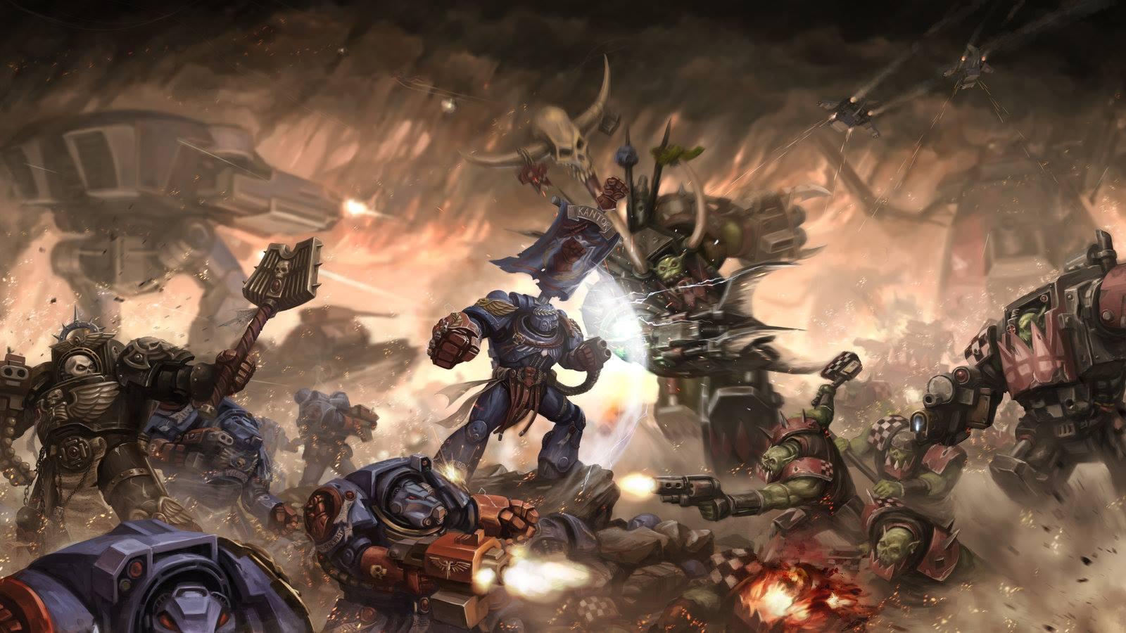 Warhammer ORC Wallpaper 39 Warhammer ORC High Resolution 1600x900