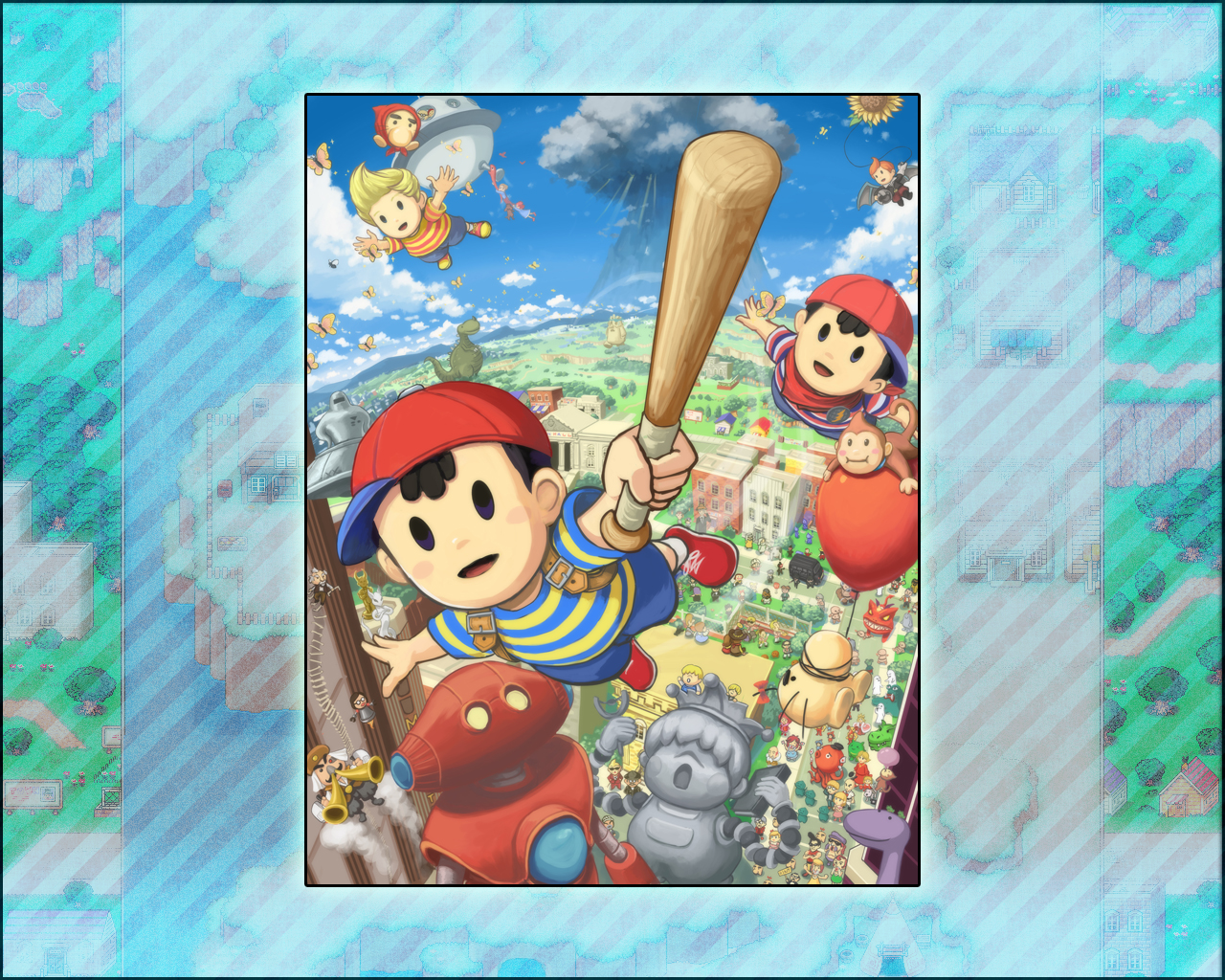 mother earthbound HD Wallpaper   General 853346 1280x1024