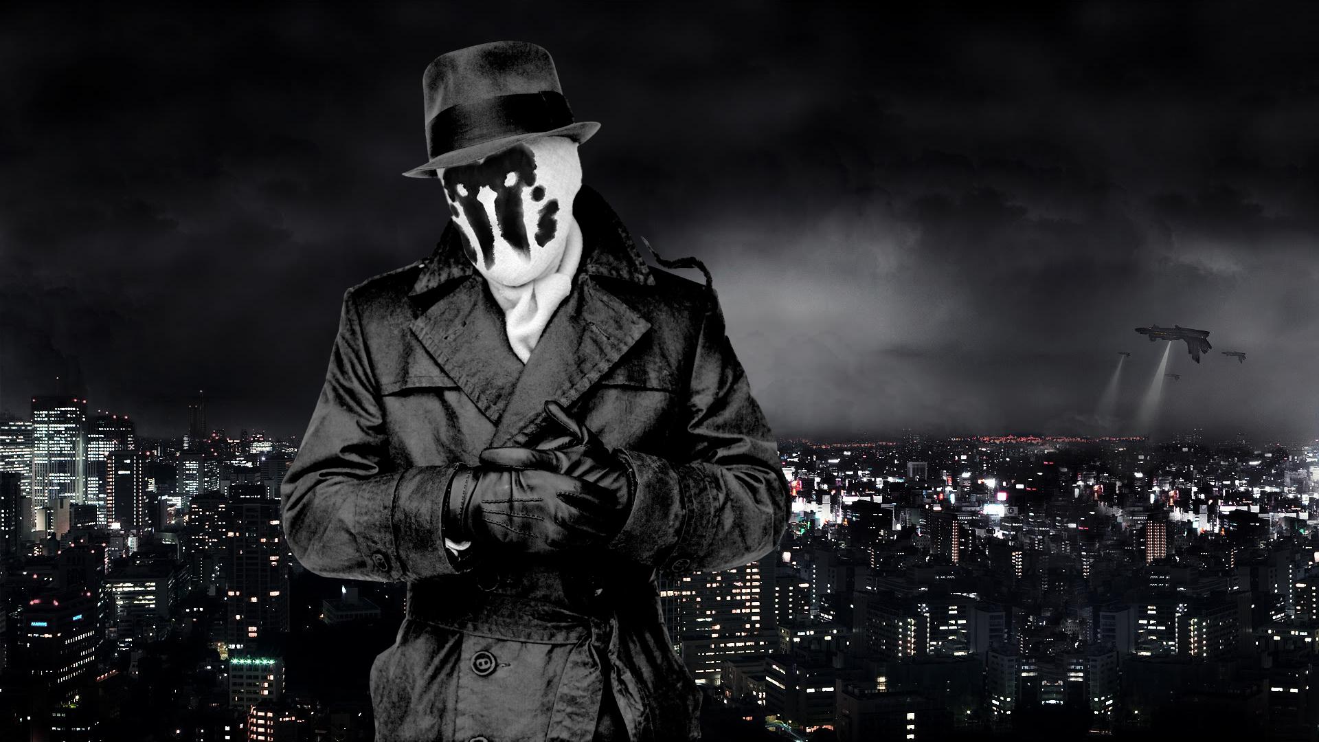Watchmen Rorschach Wallpaper 1920x1080