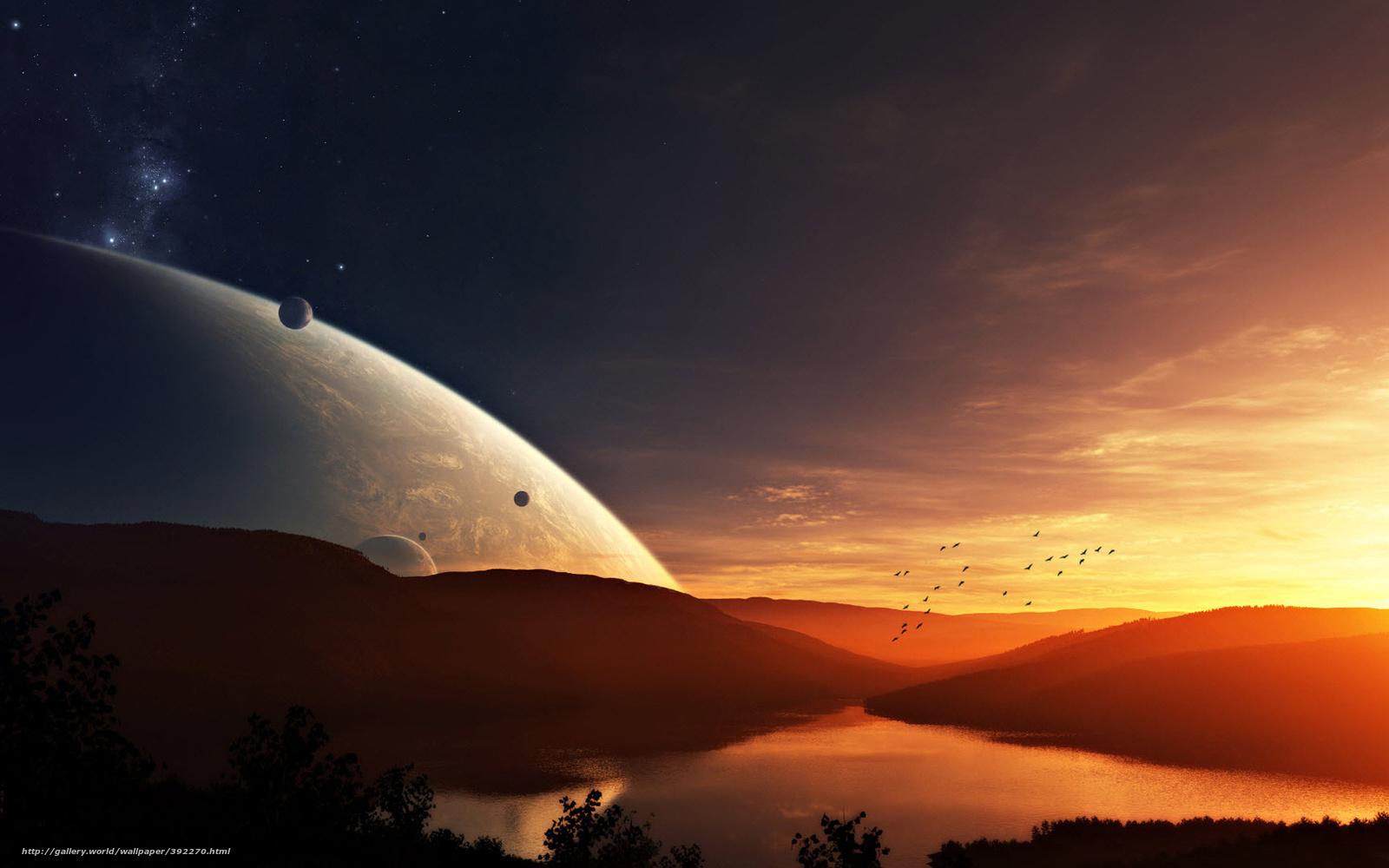 alien sunset wallpaper - photo #22