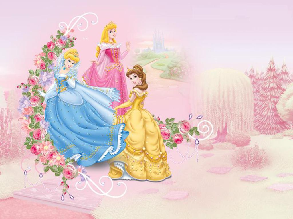 Princess Background Wallpapers WIN10 THEMES 1024x768