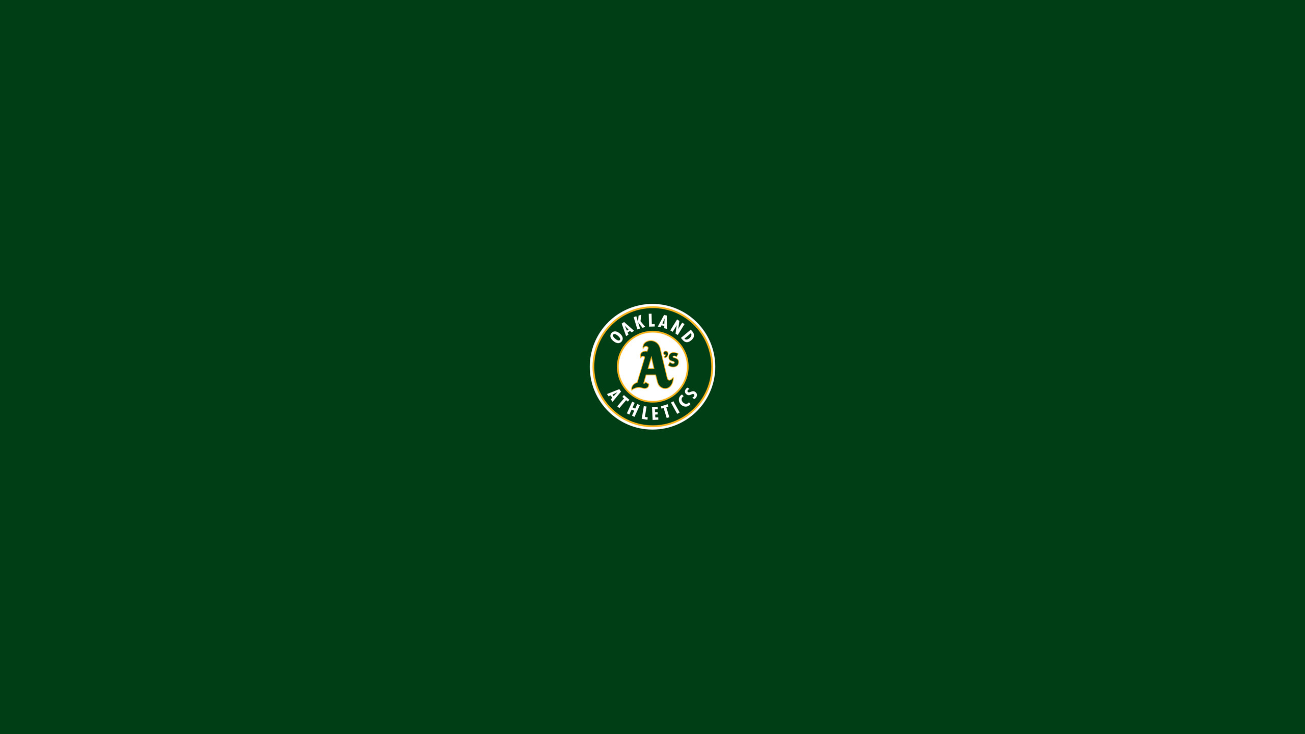 Oakland Athletics Wallpapers 67 images 2560x1440