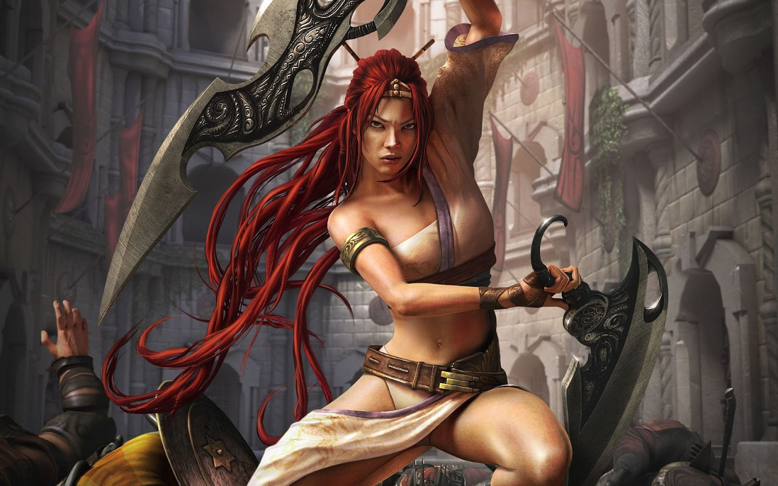 wallpapers HD Gratuit rebelle fantasy girl 2012 1600x1000