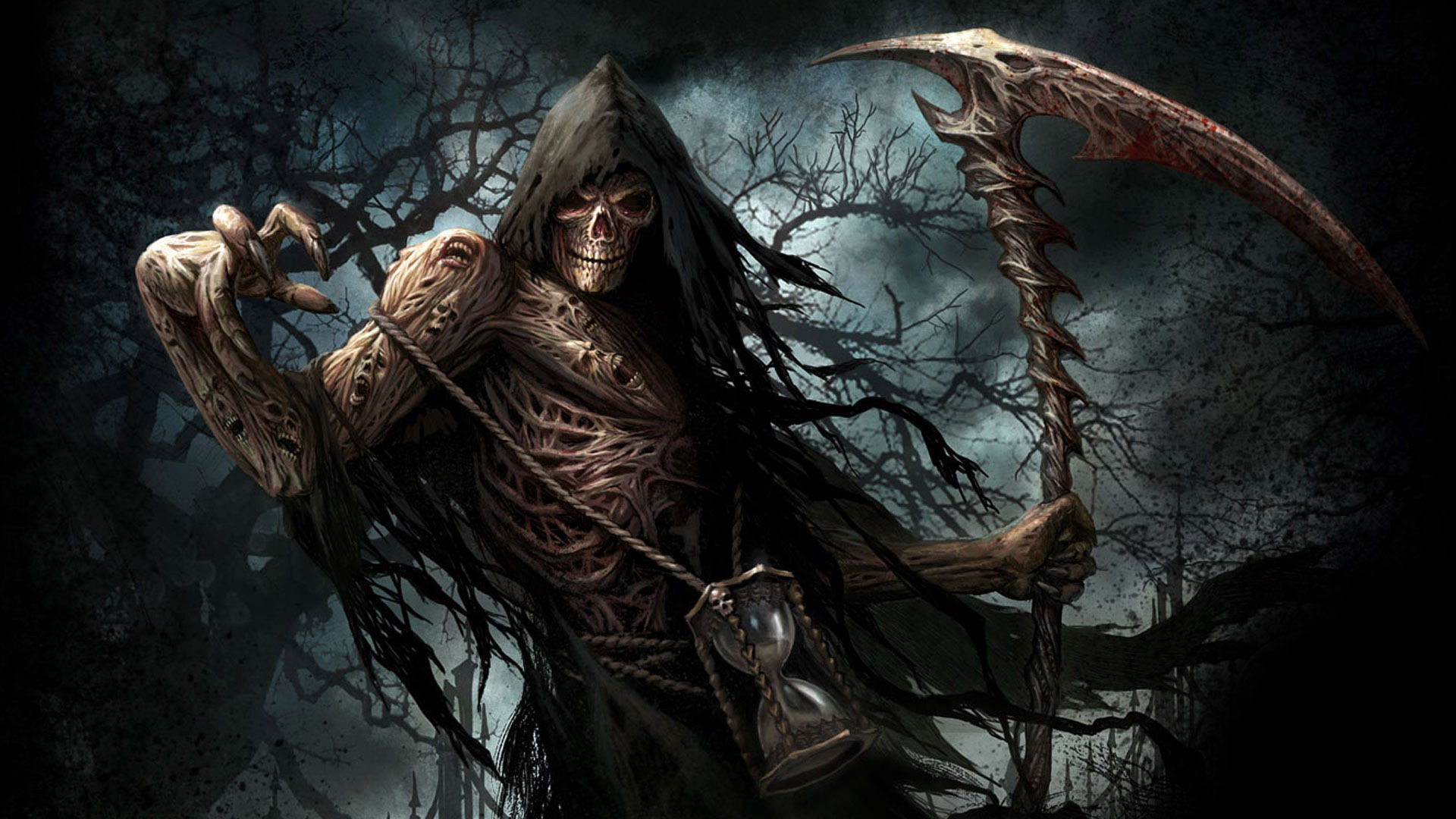 Awesome Grim Reaper HD Wallpaper Download 1920x1080