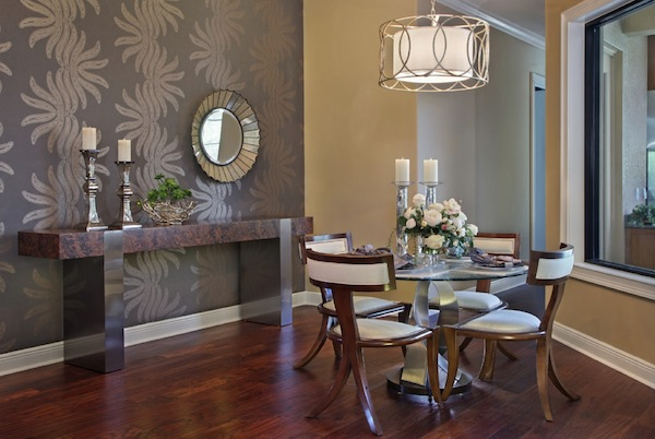 Perfect Accent Wall Shade For Your Dining Room living room decor ideas 600x402