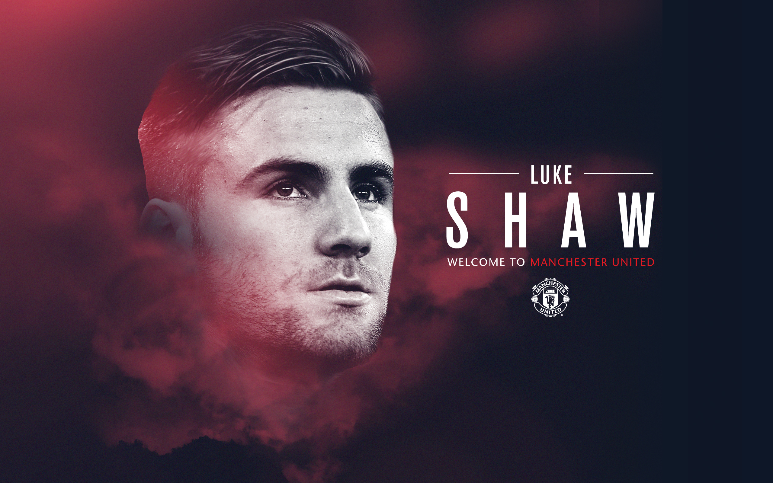Luke Shaw Wallpaper   Red Army Fanclub 2560x1600