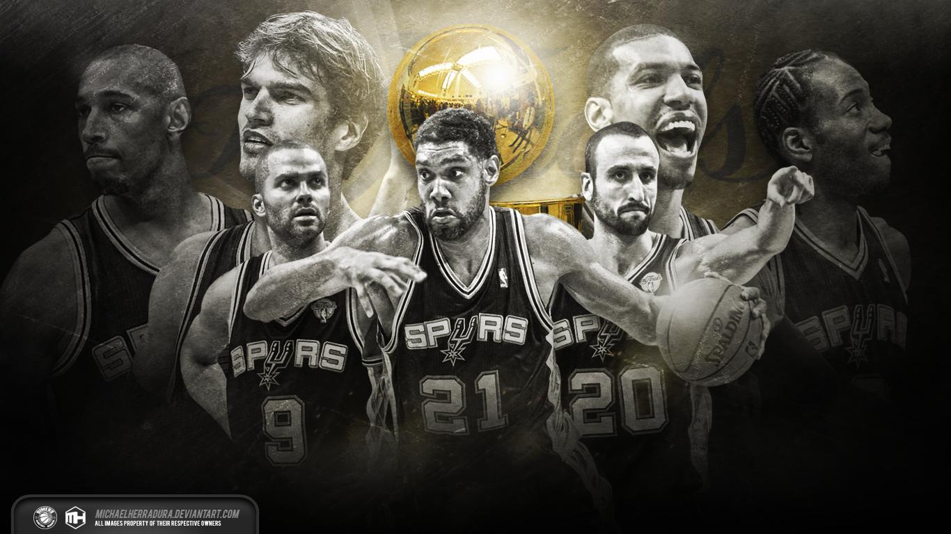 San Antonio Spurs Finals wallpaper by michaelherradura 1366x768