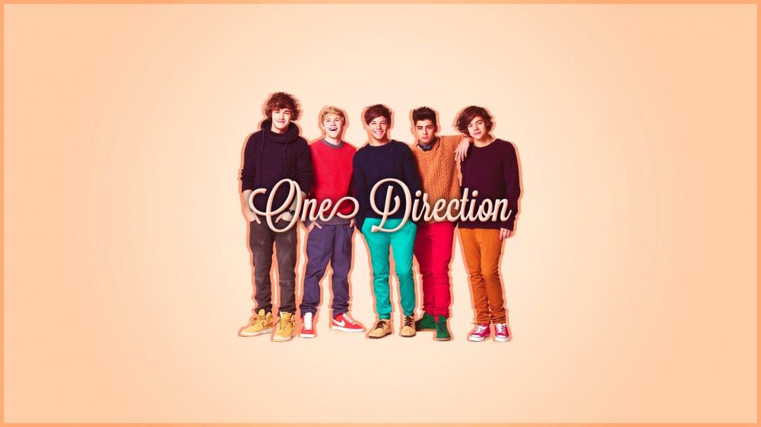 One Direction Widescreen 2013 HD Wallpaper of Celebrities 1080x607