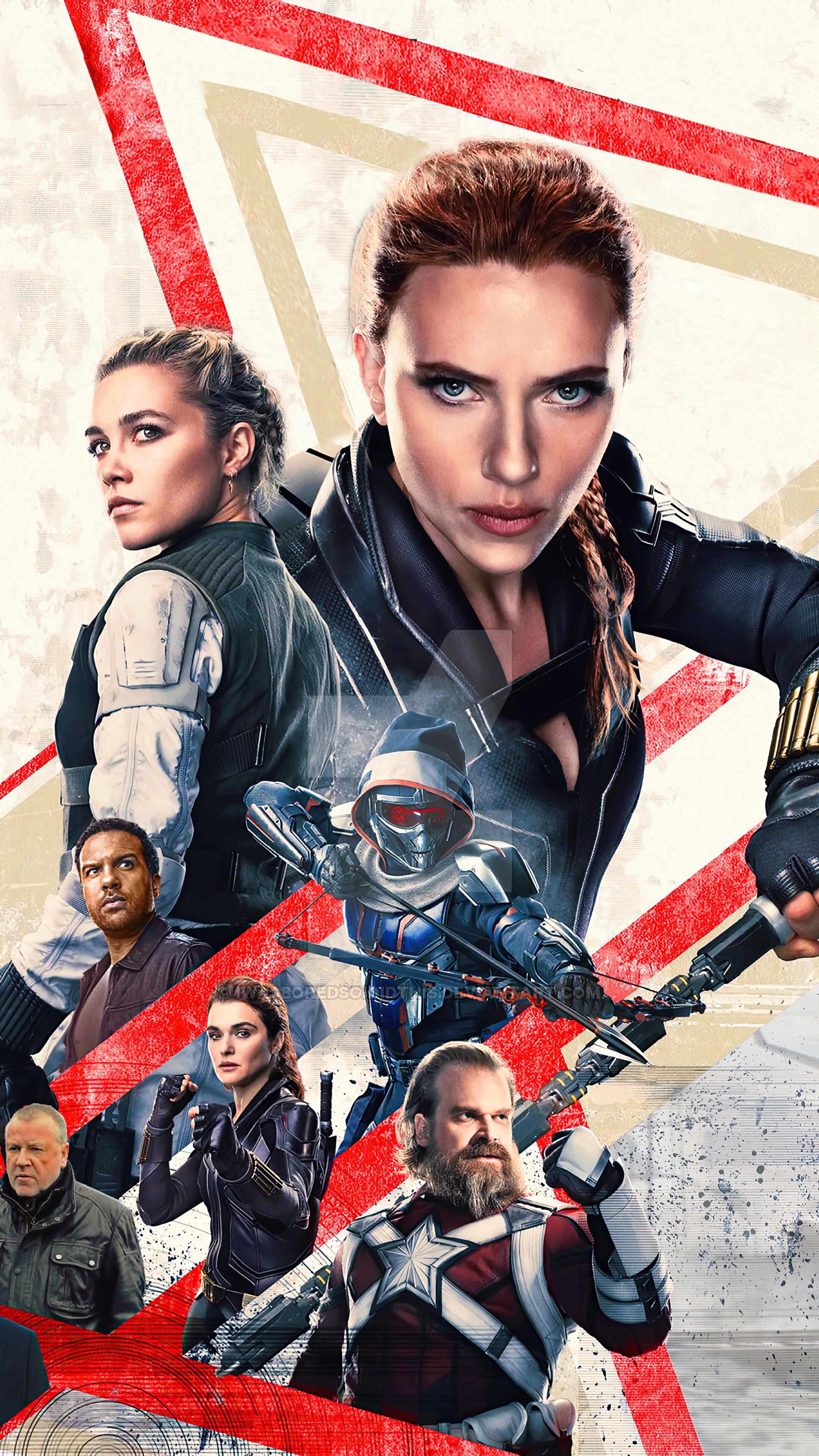 Black Widow 2021 Movie Poster HD 4K Wallpaper 82260 2160x3840