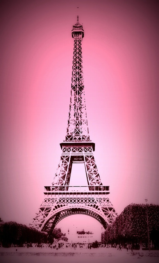 girly eiffel tower wallpaper wallpapersafari