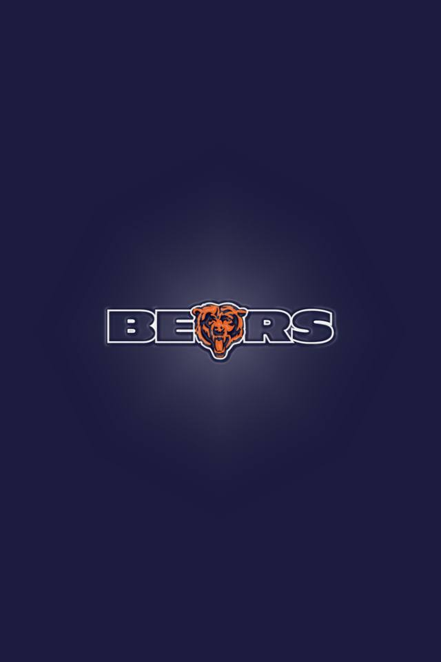 Chicago Bears sport background for your iPhone download 640x960