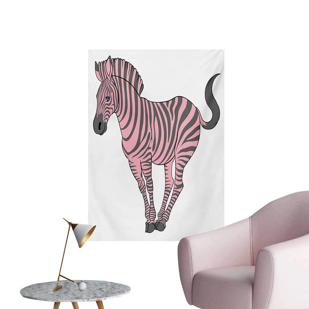 Amazoncom Anzhutwelve Pink Zebra Wallpaper Naturalistic Baby 1000x1000