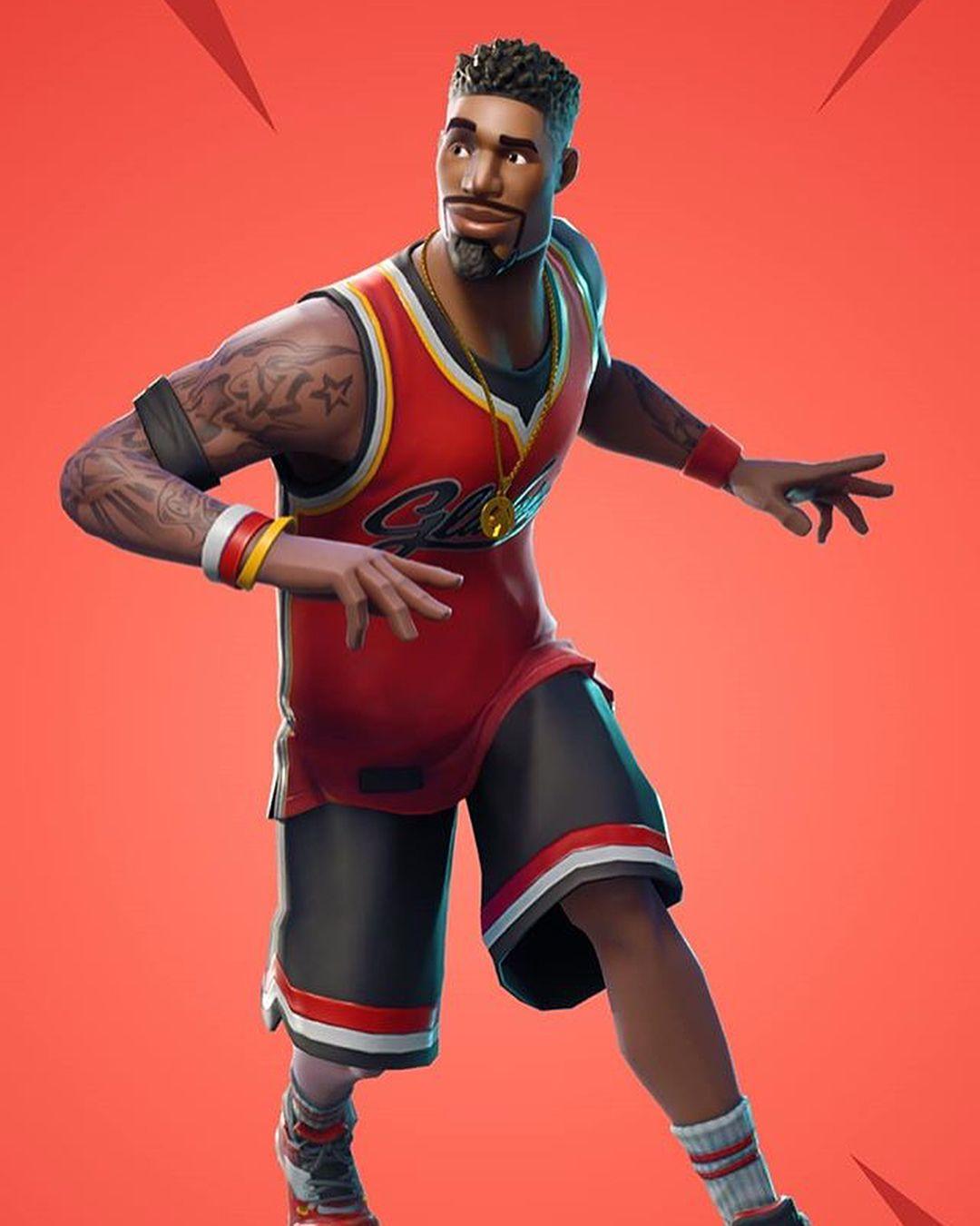 Nueva skin de baloncesto Fortnite 1080x1350