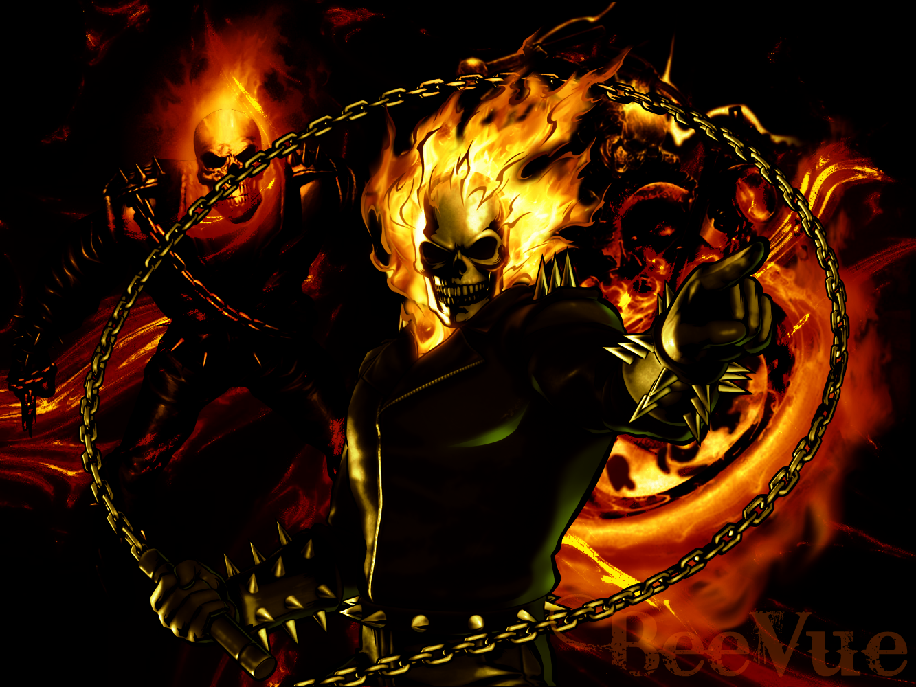 Ghost Rider Wallpaper 2 Ghost Rider Wallpaper by 1333x1000