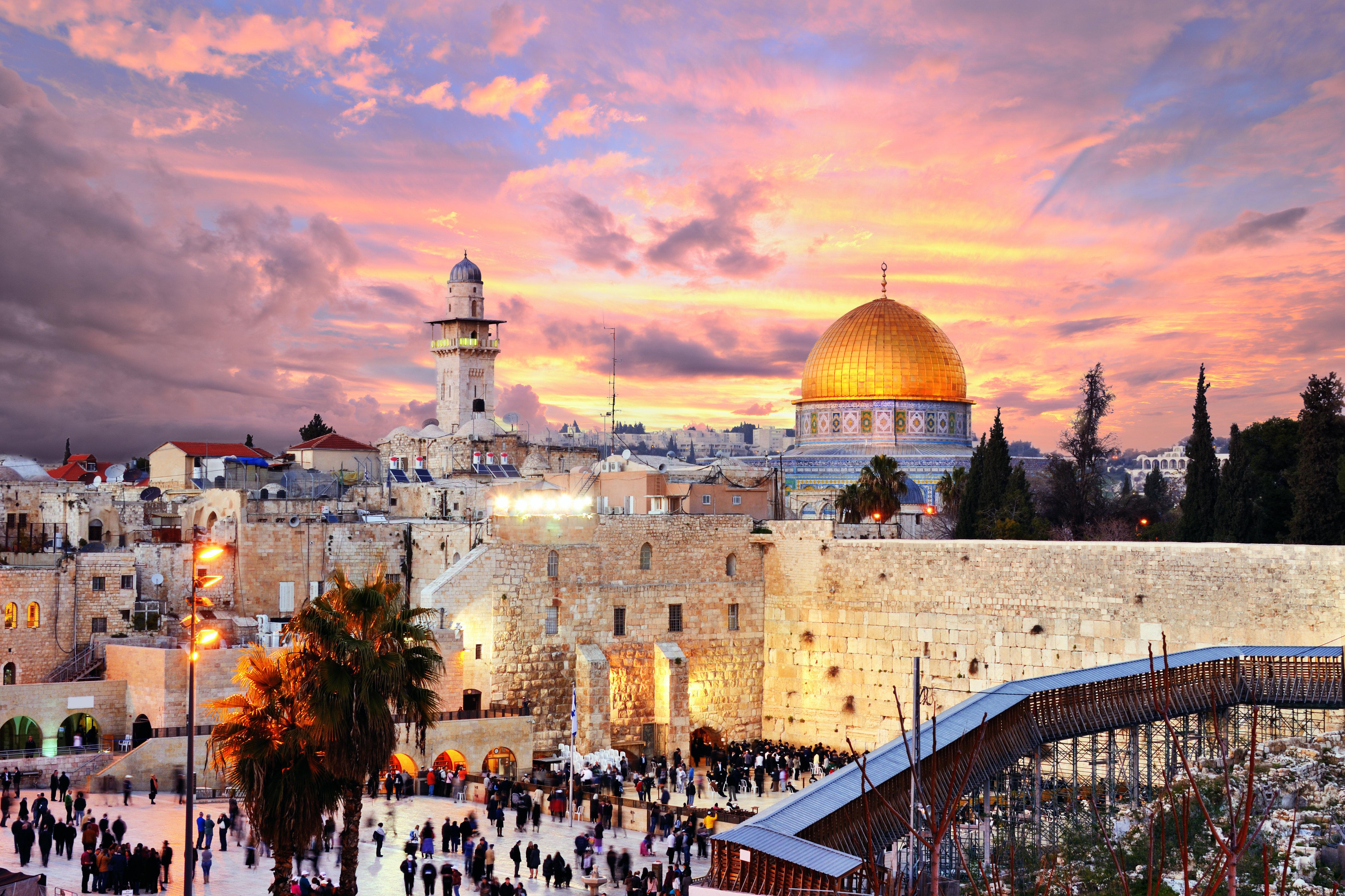 Jerusalem Wallpaper HD 4925x3283