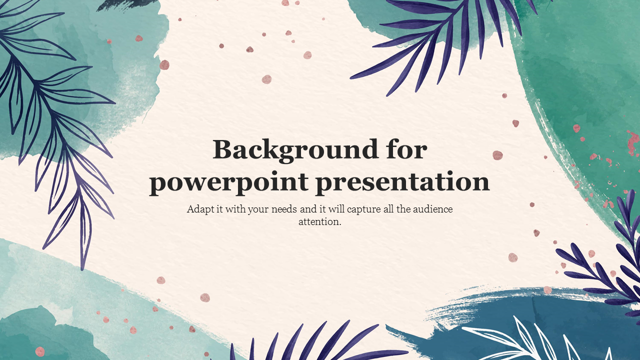 Background for powerpoint presentation template 1280x720