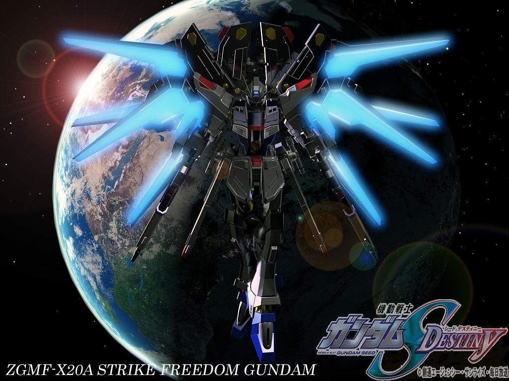 1024x768px Freedom Gundam Wallpaper Wallpapersafari