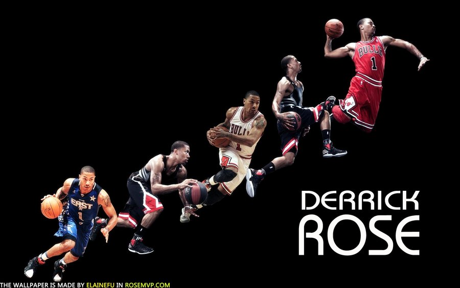 chicago bulls derrick rose wallpaper by ElaineFu 900x563