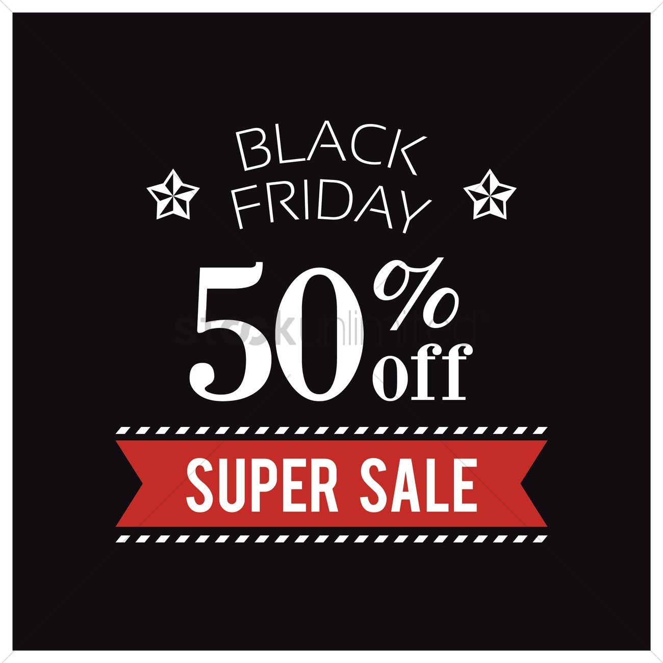 Black friday sale wallpaper Vector Image   1583530 StockUnlimited 1300x1300