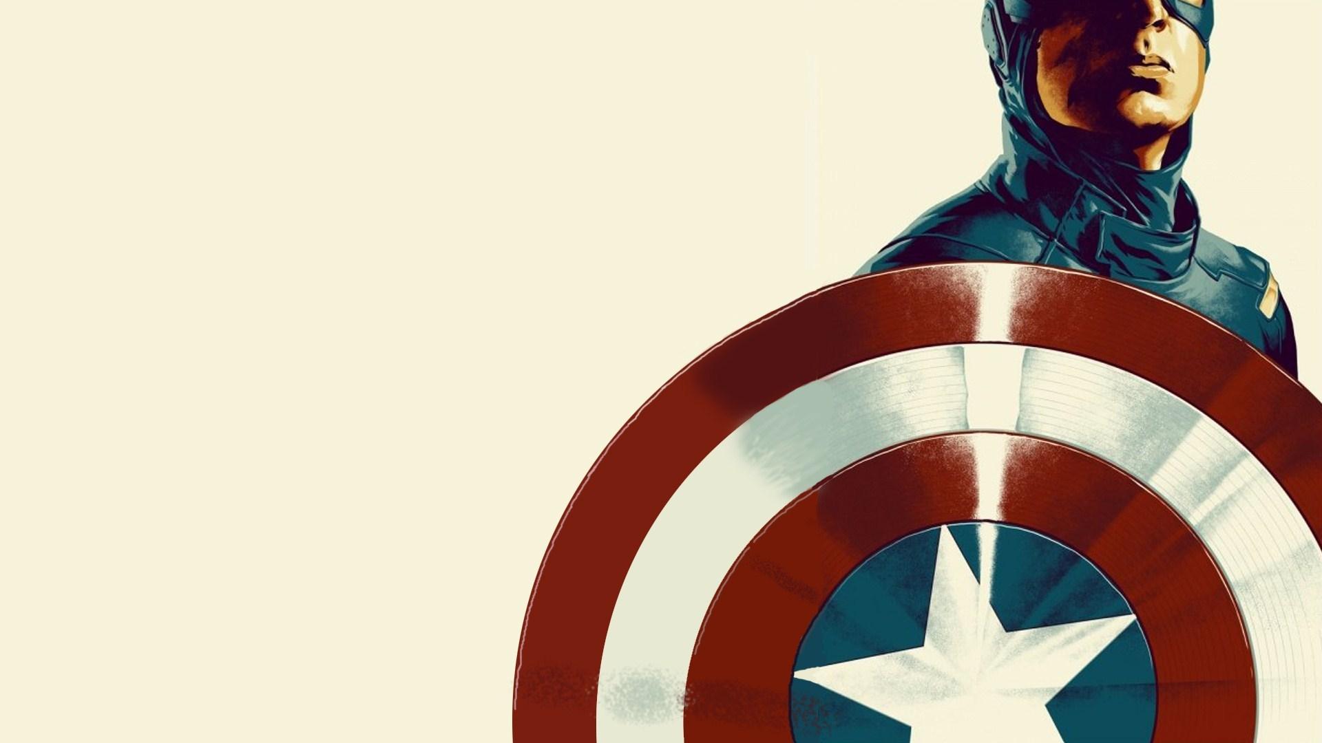 Captain America Shield Poster Art Hd Wallpaper Wallpaper List 1920x1080