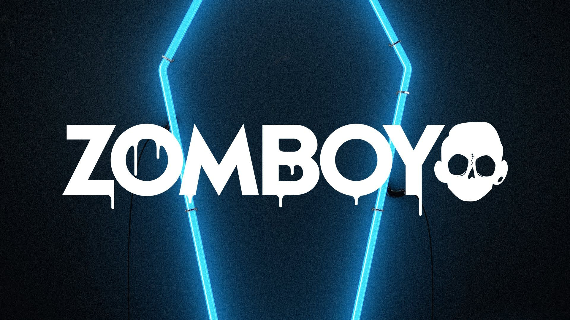 Zomboy   Lights Out Trap Zomboy Dubstep Neon signs Youtube 1920x1080