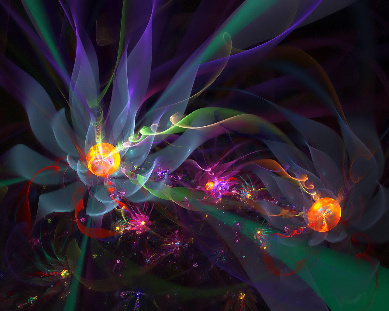 Desktop Wallpaper Gallery 3D Art Flowers 3D Themes 1280x1024