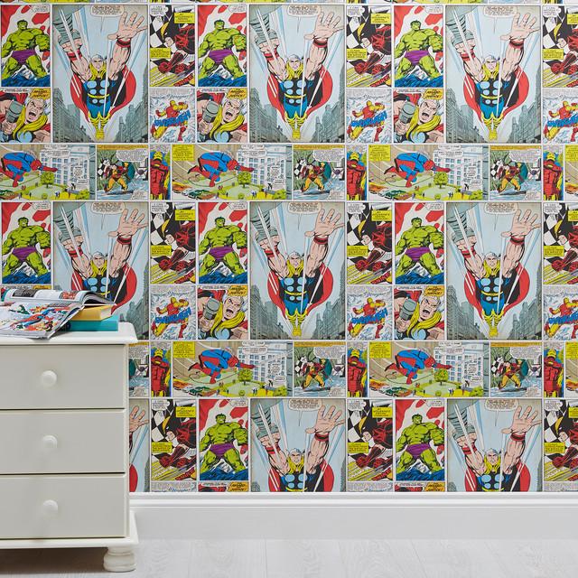 Dulux Avengers Bedroom In A Box: Marvel Wallpaper Bedroom