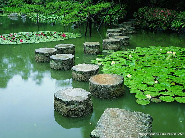 Kyoto Japanese Garden wallpapersJapanese Garden in Kyoto Zen Garden 700x525