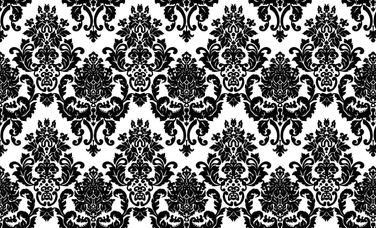 fancy black and white wallpaper - photo #6