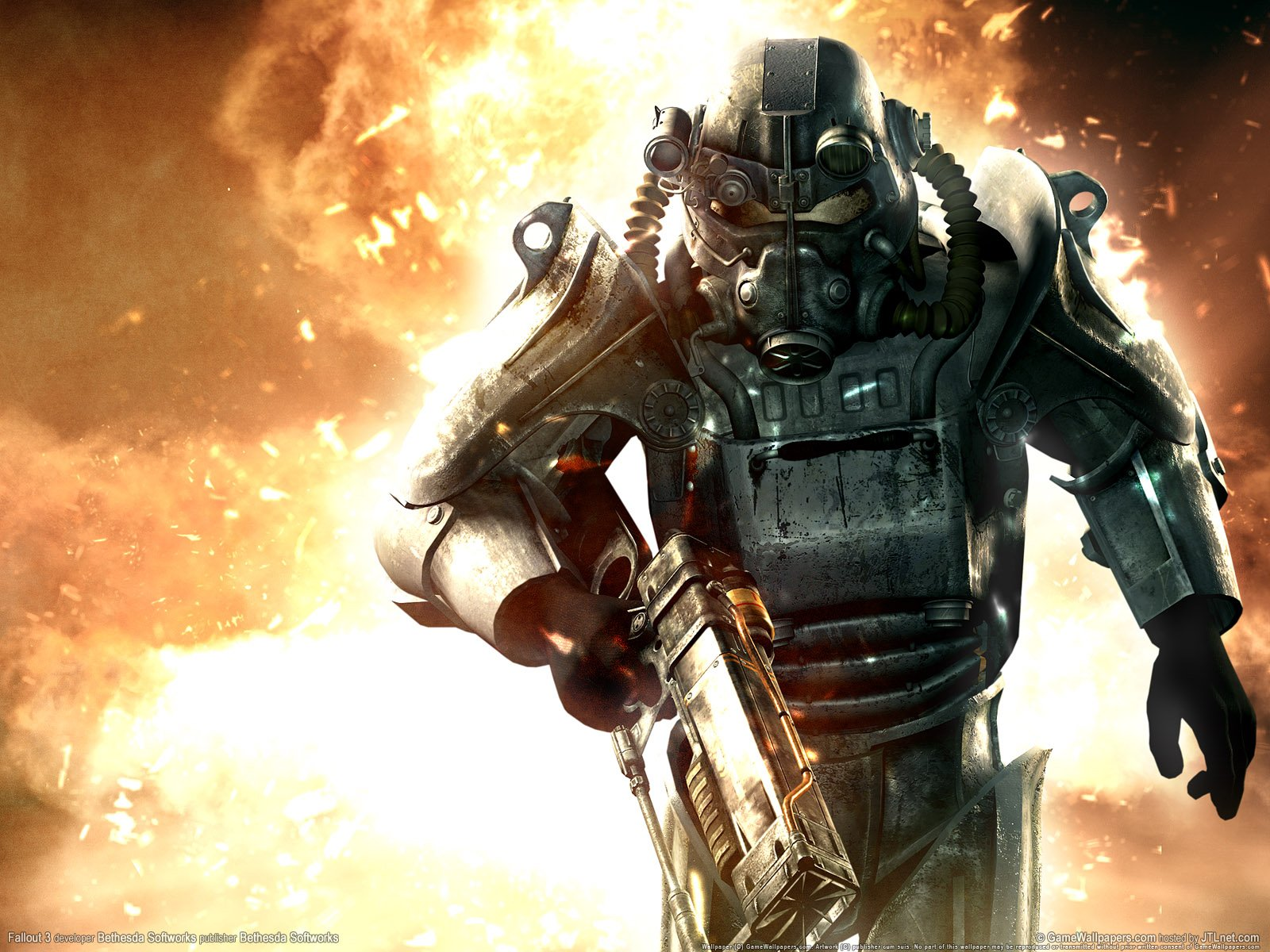 Fallout 3 Brotherhood of Steel HD Wallpapers DVD Cover HD Wallpapers 1600x1200