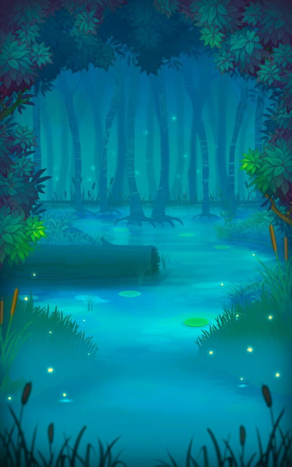 Behance \u201cBackground for mobile game 600x960