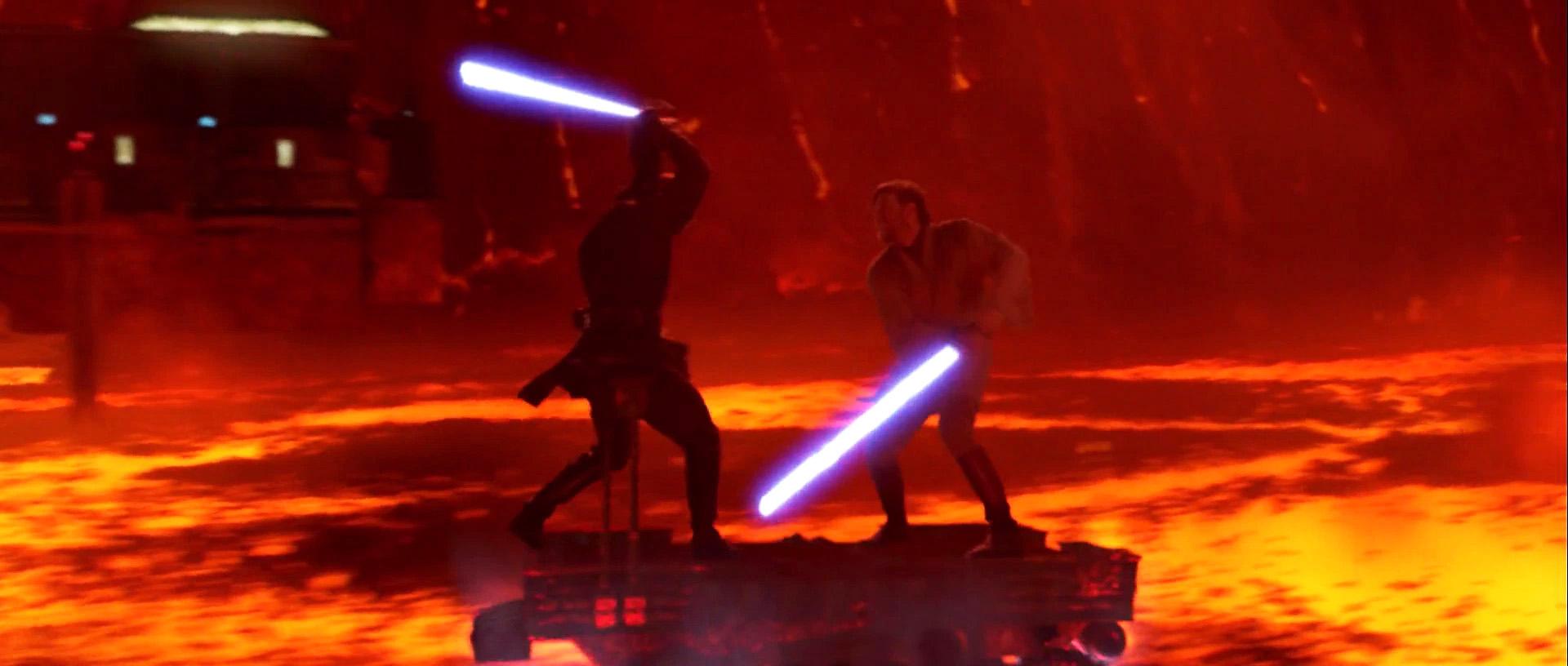 Obi Wan vs Anakin Wallpaper - WallpaperSafari