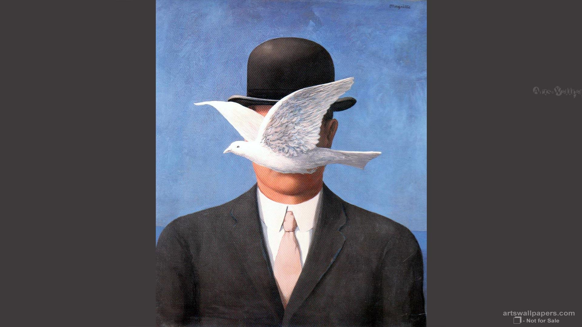 Rene Magritte Art Paintings Fine Wallpaper 19201080 Art Wallpaper 1920x1080