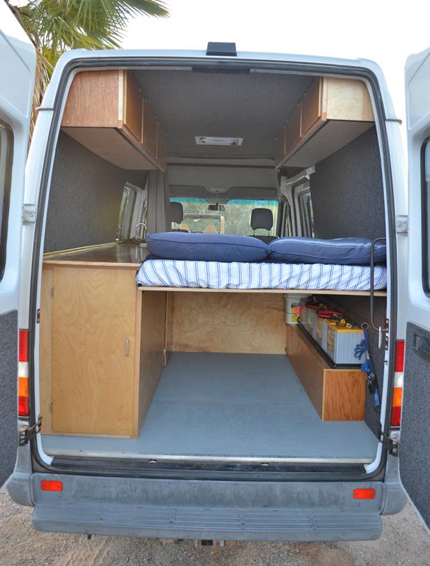 Homemade Camper Van Interiors