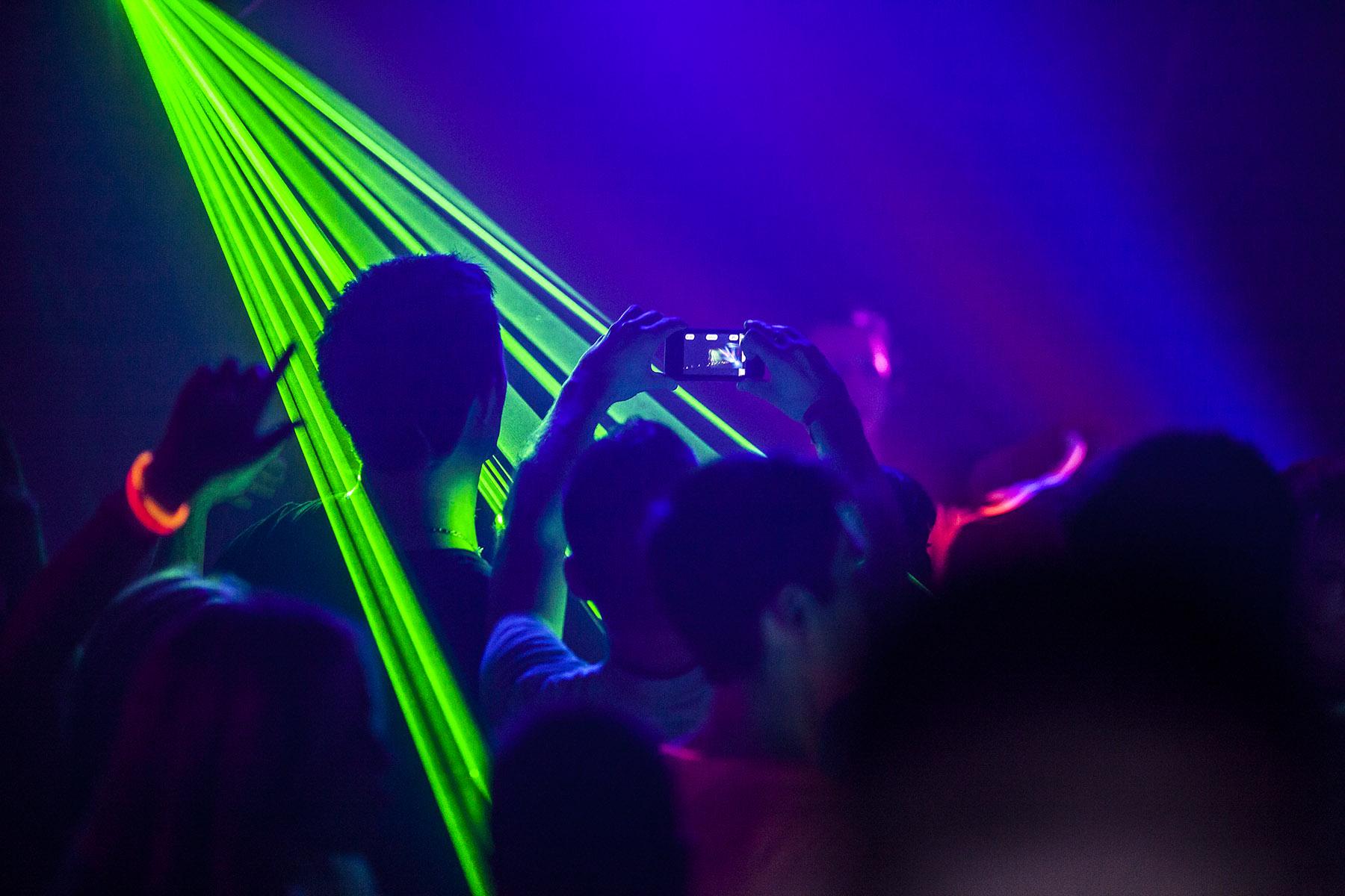 Rave Concert Laser Crowd concerts people music wallpaper background 1800x1200