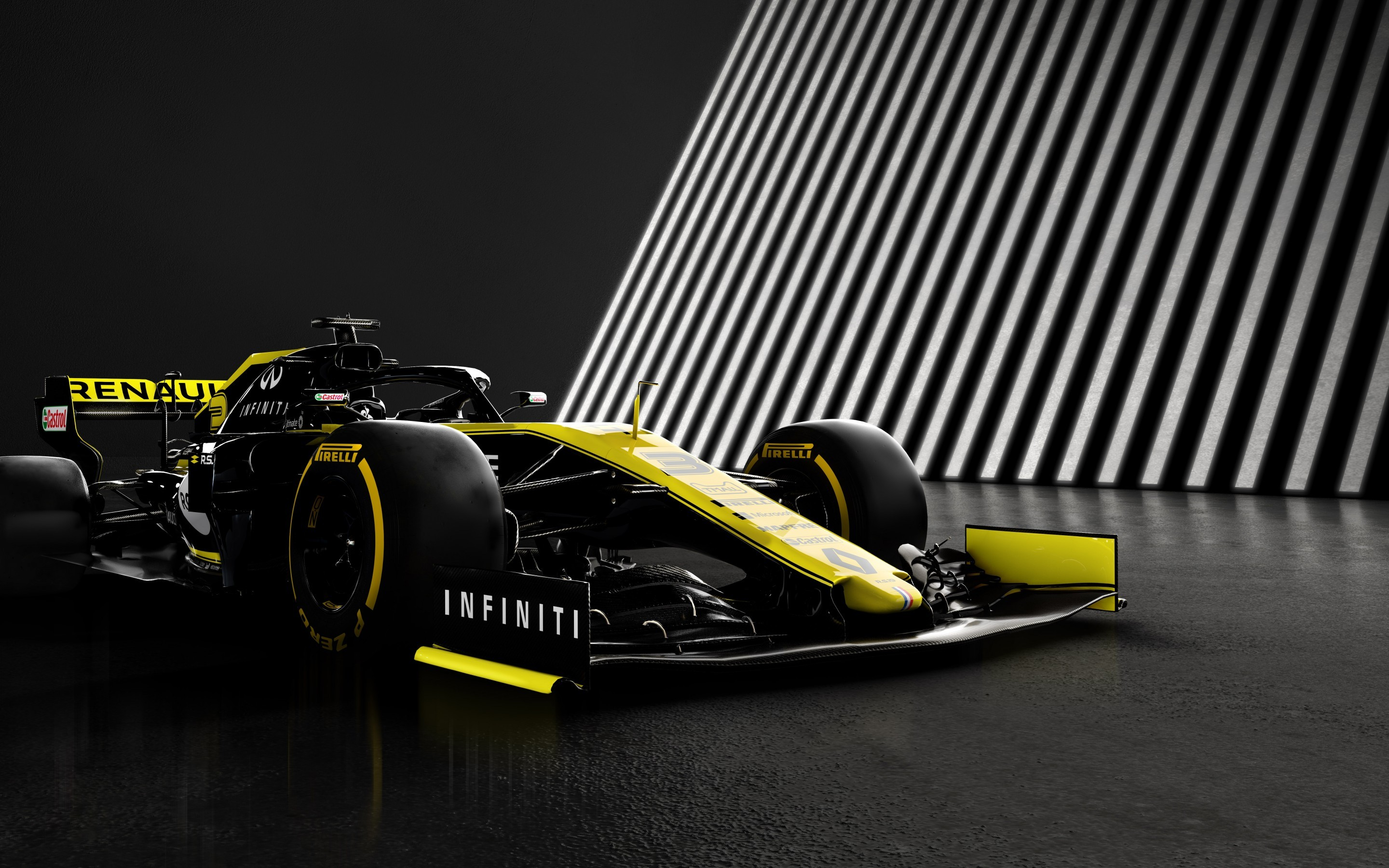 Download 2880x1800 Formula 1 Renault Rs19 Racing Cars Yellow 2880x1800