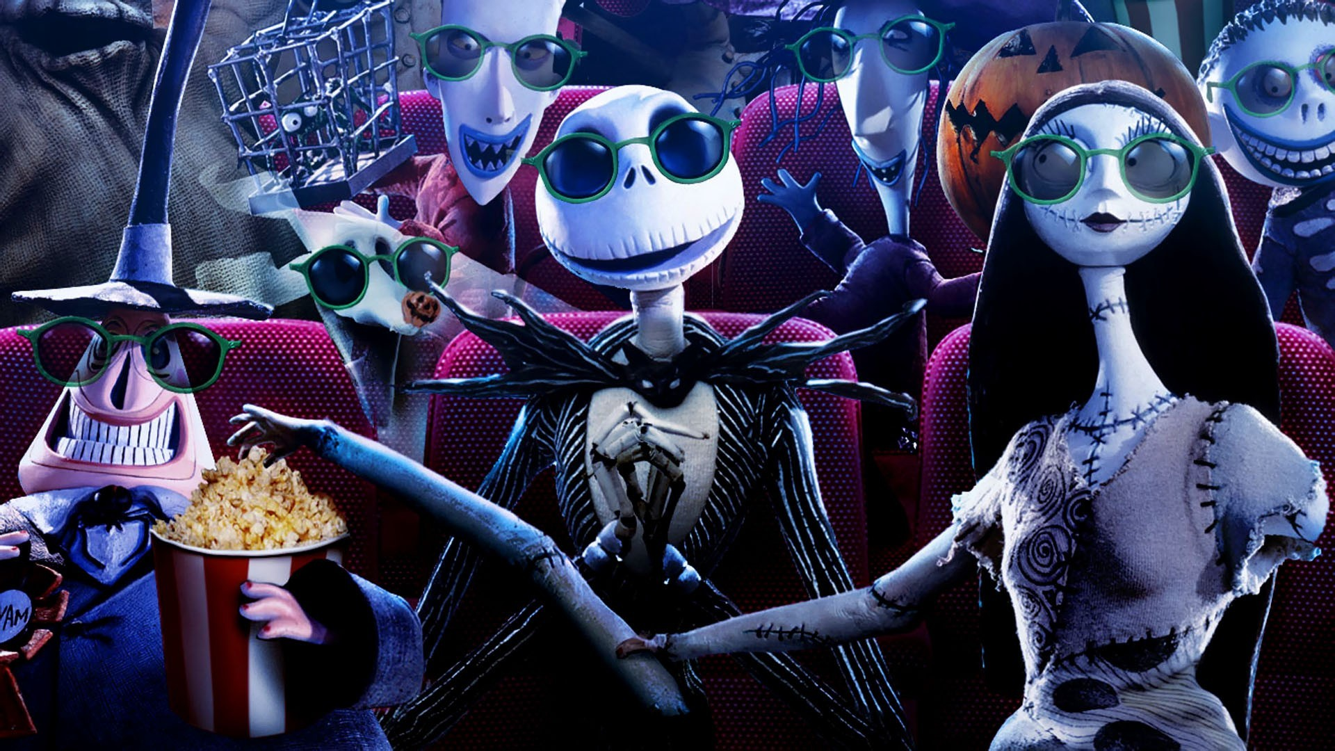 Best 35 The Nightmare Before Christmas Desktop Background on 1920x1080
