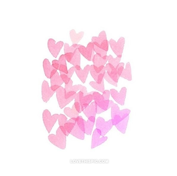 Cute Pink Heart Wallpaper - WallpaperSafari