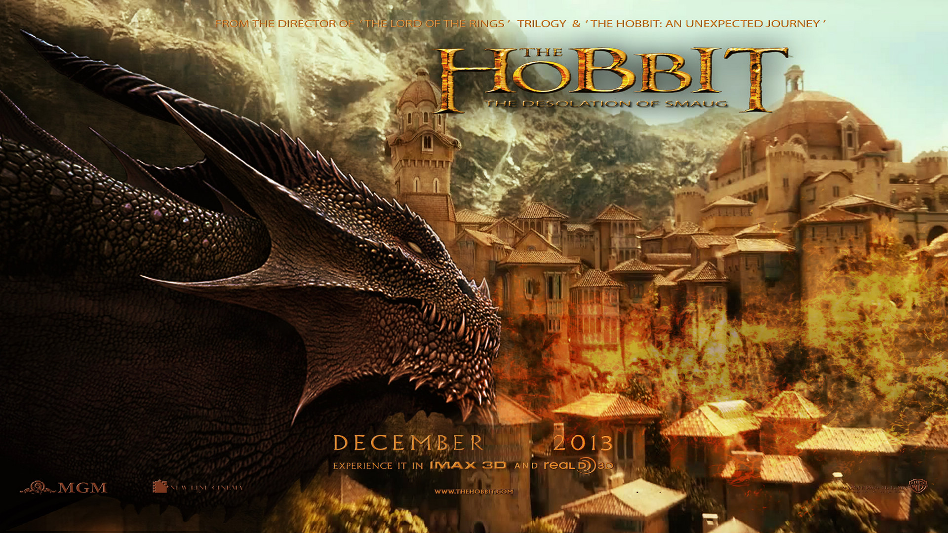 The Hobbit The Desolation of Smaug 2013 1920x1080