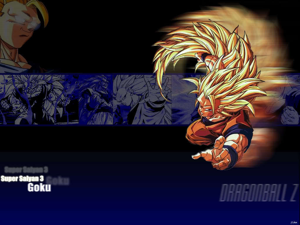 Free Download Goku Super Saiyan 3 Wallpaper 4 Dragonball Z Movie