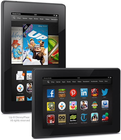 Amazon Kindle Fire HDX 7 apps and content 480x557